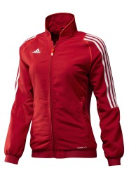 Team Trainingsjacke, ADIDAS T12, Damen, rot