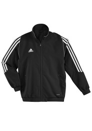 Kinder Team Trainingsjacke, ADIDAS T12, schwarz