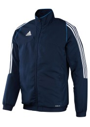 Herren Team Trainingsjacke, ADIDAS T12, blau