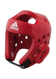 Taekwondo Head guard, ADIDAS DIP, WTF, red