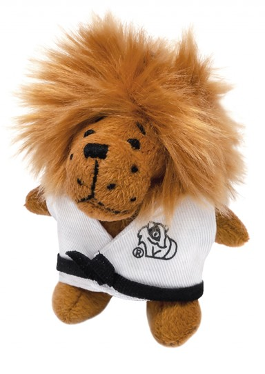 Keychain soft toy LION