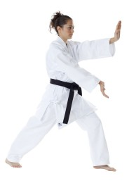 Karate Gi, DAX Okinawa, 8 oz., white
