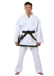 Traditional Taekwondo Dobok, DAX Master, black lapel