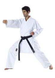 JKA Karate Gi, TOKAIDO Tsunami Gold, 14 oz., white
