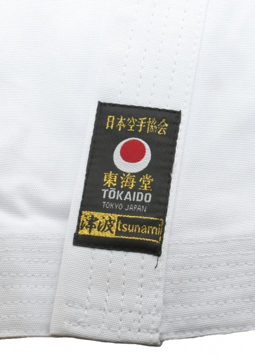 Karate Gi Tokaido Tsunami Gold 14 Oz White Dax Sports