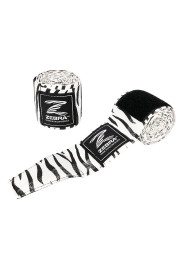 Boxing Bandages, ZEBRA, white