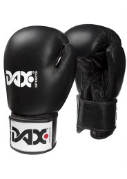 Boxing gloves TT, leather, black