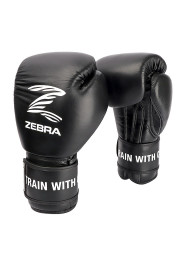 Boxing Gloves, ZEBRA Pro Signature VELCRO, Leather