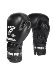 Boxing Gloves, ZEBRA Performance, leather