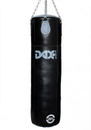 Heavy Bag, DAX PRO LINE, leather, black/grey