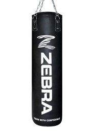Punching Bag, ZEBRA Pro, PU, black