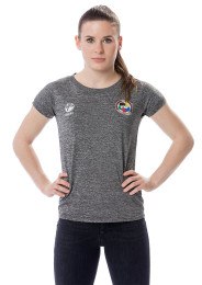 Women's T-Shirt, TOKAIDO Team, WKF, grey