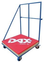 Cart for Mats with gum wheels