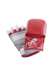 Jiu Jitsu Gloves, DAX Kumite, red