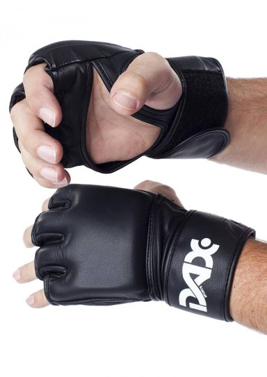 MMA Gloves, DAX Competition, black