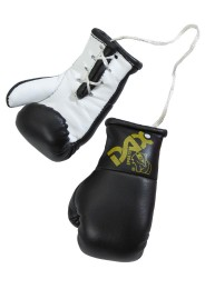 Mini boxing gloves, black