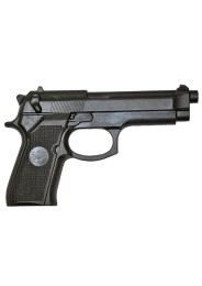 Hard Rubber Gun, black