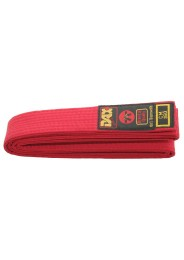 Judo Competition Belt, DAX, red