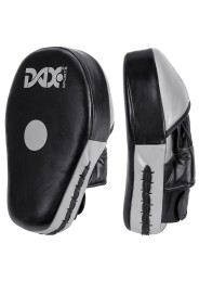 Focus mitt SUPER SHIELD, leather, black/grey
