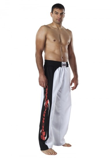 Kickboxing Pants, DAX Spider, white/black