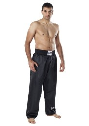 Kickboxing Pants, DAX Fighter, satin, black