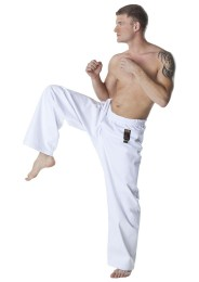 Kickboxing Pants, DAX Kick, white