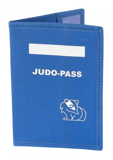 Cover for Judo Passport, blue