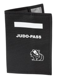Cover for Judo Passport, black