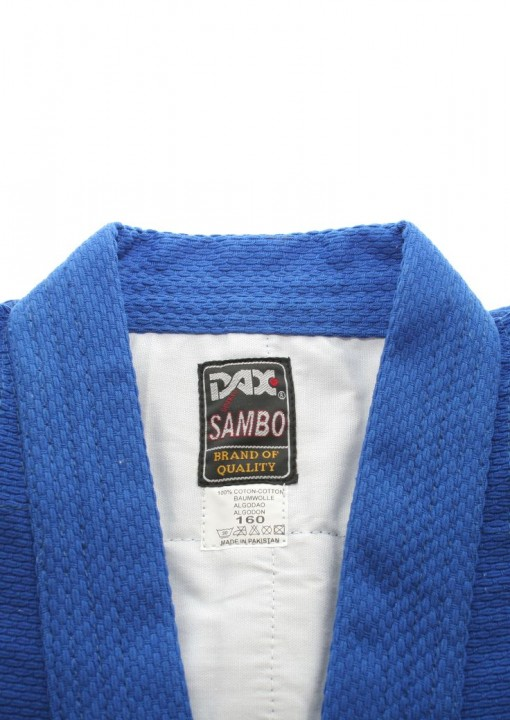 Sambo Jacket Dax Kurtka Incl Belt Blue Dax Sports