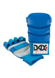 Jiu Jitsu Gloves, DAX Kumite 4, leather, blue