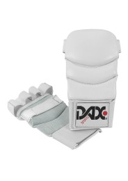 Jiu Jitsu Gloves, DAX Kumite 4, leather, white
