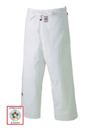 Judo Pants, MIZUNO Yusho, made in Japan, IJF, 750 g., white