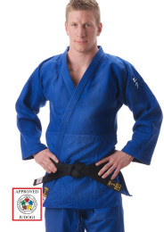 Judo Jacket, HIKU Shiai 2, Slim Fit, IJF, 750 g., blue