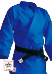 Judoanzug, MIZUNO Yusho, made in Japan, IJF, 750 g., blau