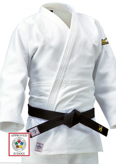Judoanzug, MIZUNO Yusho, made in Japan, IJF, 750 g., weiß