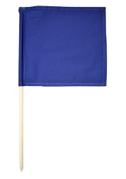 Referee flag, blue