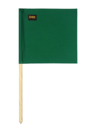 Referee flag, green