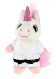 Keychain Soft toy, UNICORN (big eyes)