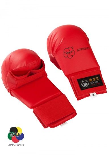 Karate Gloves, TOKAIDO, WKF approved, red