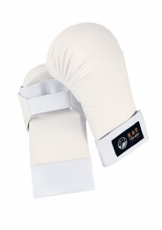 Karate Gloves, TOKAIDO Shotokan, white