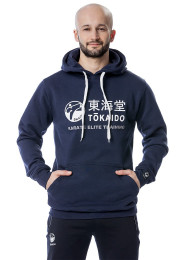 Men's Hoody, TOKAIDO Athletic, blue