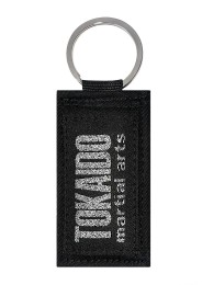 Key chain TOKAIDO MARTIAL ARTS Obi black, silver