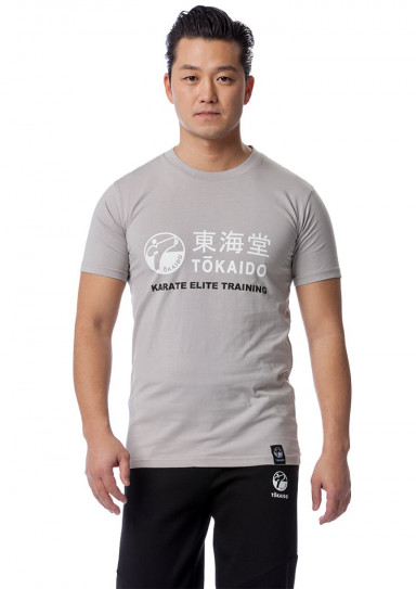 T-Shirt, TOKAIDO Athletic, light gray