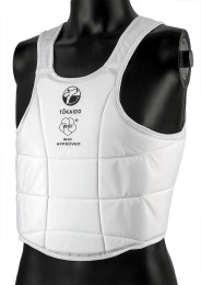 Karate Vest, TOKAIDO Body Guard PRO, WKF, white