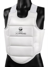 Karate Vest, TOKAIDO Body Guard, WKF, white