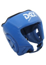 Head Guard, DAX Rebound, leather, blue