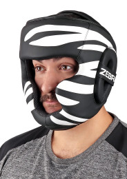 Head Guard, ZEBRA Fitness, PU