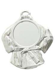 Medal base, BUDOJACKET, SILVER