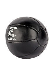 Medicine ball, ZEBRA Pro, leather