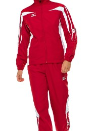 Women's Tracksuit, MIZUNO M13, red/white